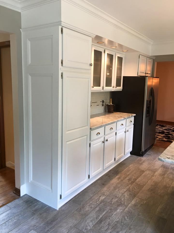 Kitchen Cabinet- Interior Home Painting- Bloomfield Hills, Rochester Hills, Clarkston MI