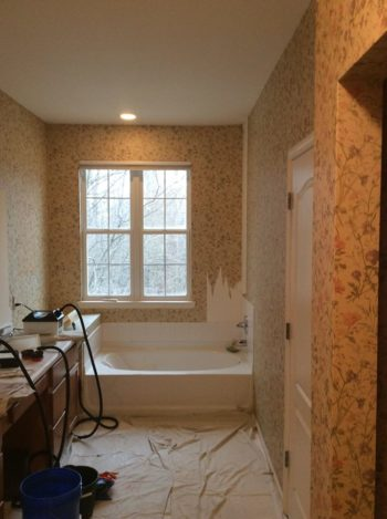 Six simple steps for wallpaper removal