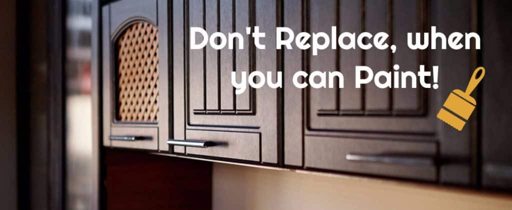 Don't Replace When You Can Paint!