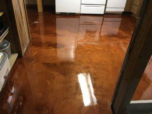 metallic epoxy flooring clarkston mi