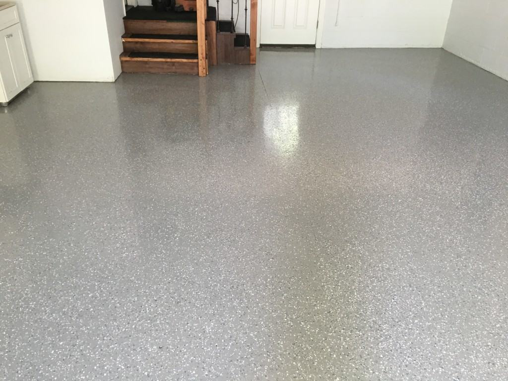 Maintaining a Beautiful, Long Lasting, Garage Floor.