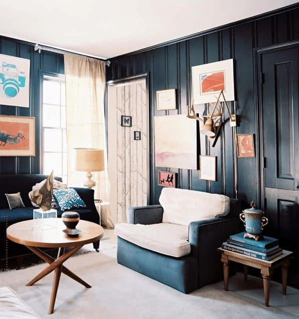 Want Dark Walls? 5 Ways to Make Them Work in Your Home